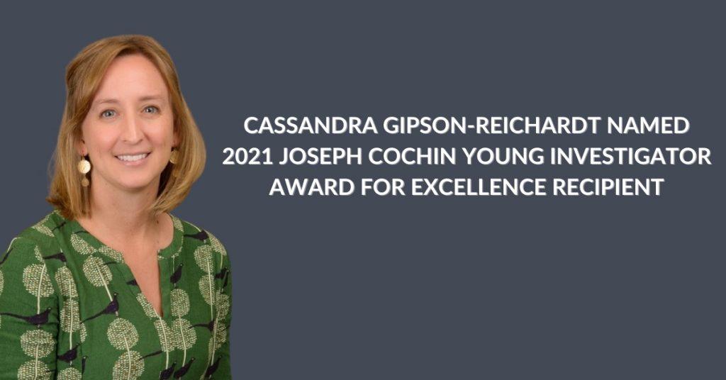 Gipson-Reichardt Named Cochin Award Winner
